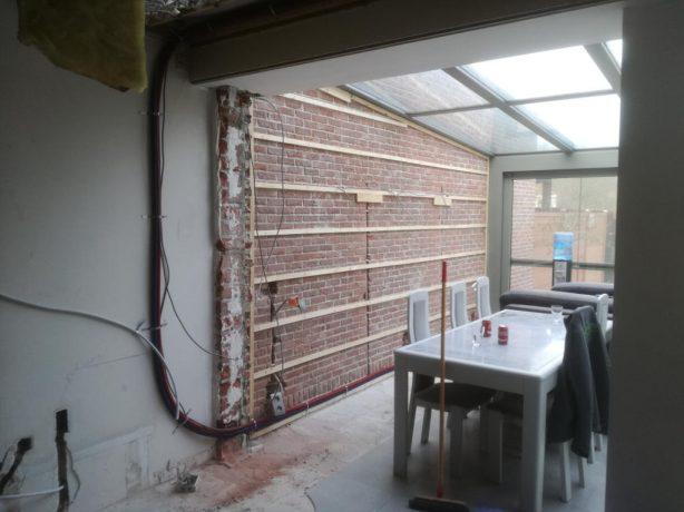 SDProjects BVBA - Leefruimte renovatie - Voor
